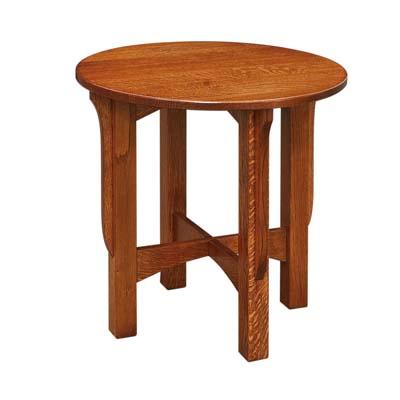 Fusion Designs Savannah Round Occasional Table Stewart Roth Furniture