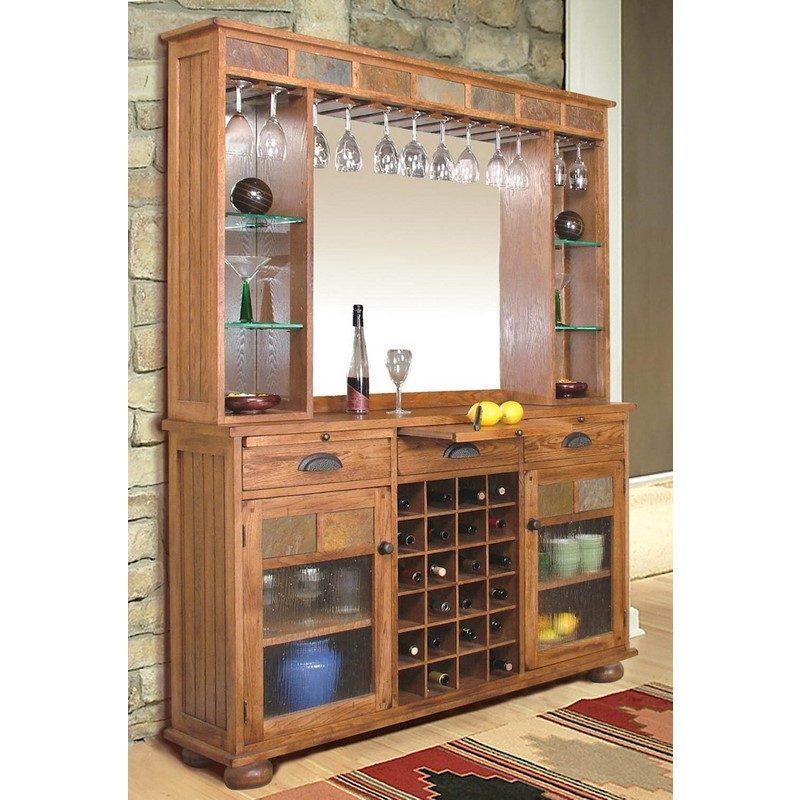 Sunny Designs Sedona Two Piece Back Bar Stewart Roth