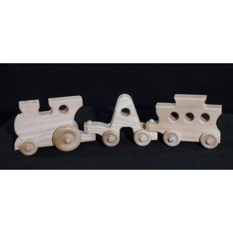 Creative Wood Design Toy ABC Train - Stewart Roth Furniture