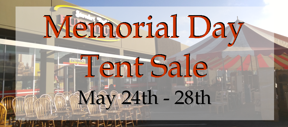 Memorial Day Tent Sale 2018 Stewart Roth Furniture