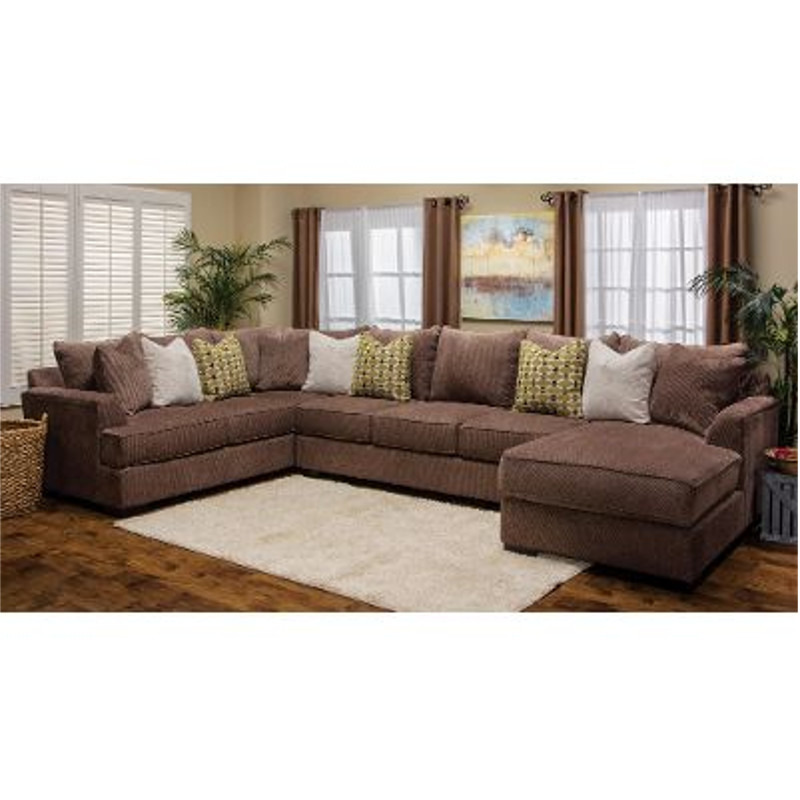 Michael Nicholas Designs 3 Pc Fortune Sectional Stewart