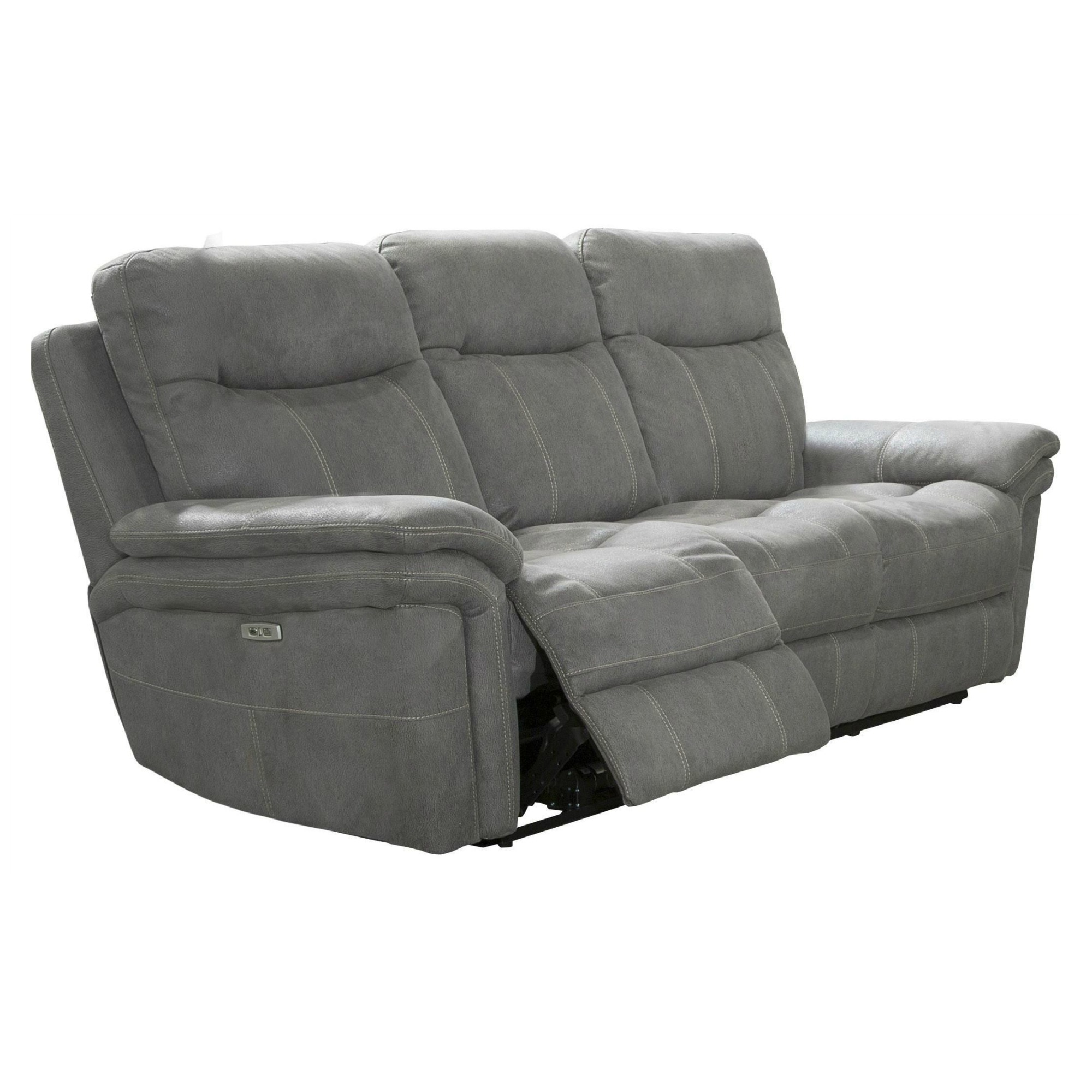 Mason Carbon Dual Power Reclining Sofa By Parker Living