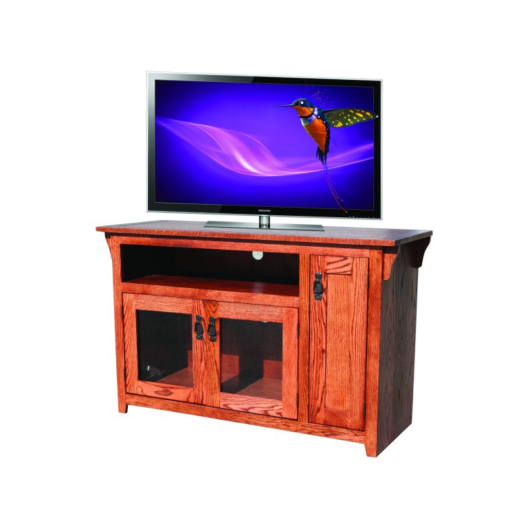 Mission Oak 48 Tv Console By Odc Roth Furniture