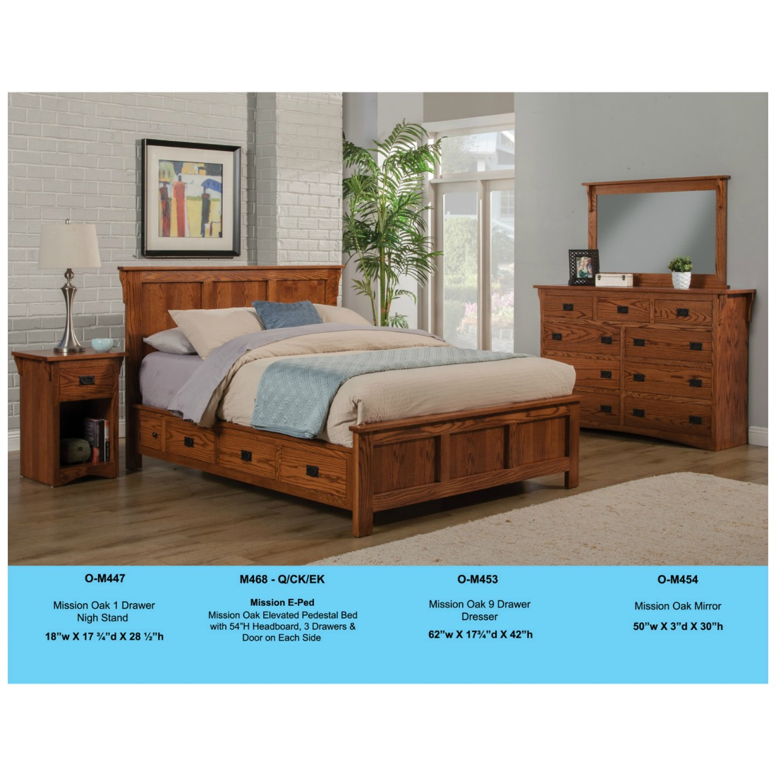 Mission Bedroom Set By Odc Stewart Roth Furniture